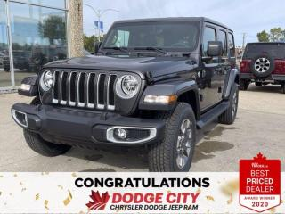 New 2021 Jeep Wrangler Unlimited Sahara- 4WD, Nav, Leather, Tow Group for sale in Saskatoon, SK