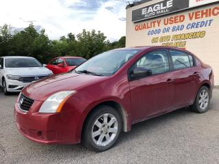 Used 2009 Nissan Sentra **AS IS SALE** Sunroof * Heated Cloth Seats * Keyless Entry * Automatic Drivers Window * Rear Child Door Locks * Child Seat Anchors * 12V DC Outlet * for sale in Cambridge, ON