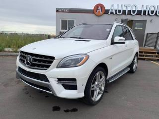 Used 2014 Mercedes-Benz ML-Class ML 550 FULLY LOADED for sale in Calgary, AB