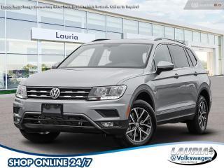 New 2021 Volkswagen Tiguan 2.0T Comfortline 4Motion AWD 7-Passenger for sale in PORT HOPE, ON