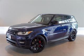 Used 2015 Land Rover Range Rover Sport V8 Supercharged Dynamic for sale in Langley City, BC