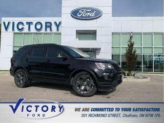 Used 2018 Ford Explorer Sport | 4X4 | NAV | REMOTE START | DUAL SUNROOF for sale in Chatham, ON