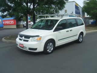 Used 2010 Dodge Grand Caravan C/V   LADDER RACK    DIVIDER    REAR SHELVES for sale in York, ON