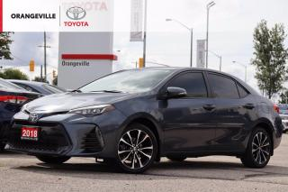 Used 2018 Toyota Corolla XSE, HEATED SEATS/STEERING, NAVIGATION, SUNROOF, LEATHER SEATS, LANE KEEPING ASSIST, ALLOY WHEELS for sale in Orangeville, ON