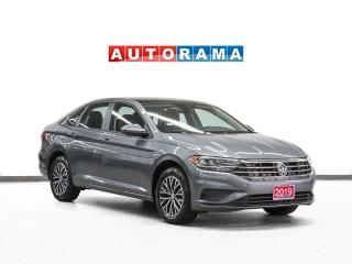 Used 2019 Volkswagen Jetta Highline Leather Sunroof Backup Camera for sale in Toronto, ON