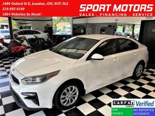 Used 2019 Kia Forte LX+ApplePlay+Heated Seats & Steering+CLEAN CARFAX for sale in London, ON