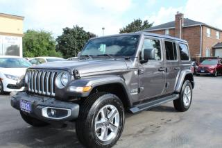 Used 2021 Jeep Wrangler Unlimited Sahara for sale in Brampton, ON