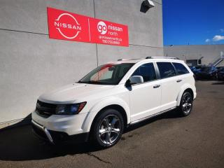 Used 2015 Dodge Journey CROSSROAD/AWD/V6/8.4 TOUCH SCREEN/LEATHER/POWER SEATS for sale in Edmonton, AB