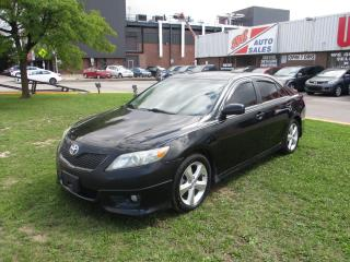 Used 2011 Toyota Camry SE ~ V6 ~ LEATHER ~ SUNROOF ~ BLUETOOTH ~ SAFETY for sale in Toronto, ON