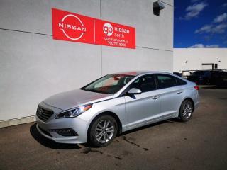 Used 2015 Hyundai Sonata GL/BACK UP CAM/BLUETOOTH/ALLOY WHEELS for sale in Edmonton, AB