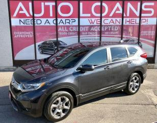 Used 2017 Honda CR-V EX-L-ALL CREDIT ACCEPTED for sale in Toronto, ON