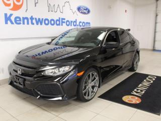 Used 2018 Honda Civic Hatchback LX | Manual | Turbo | One Owner | Heated Seats for sale in Edmonton, AB