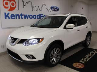 Used 2014 Nissan Rogue SL | AWD | Leather | One Owner | NAV | Sunroof for sale in Edmonton, AB