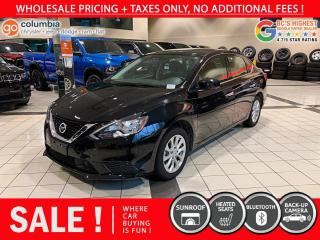Used 2019 Nissan Sentra SV - Local / Sunroof / No Dealer Fees for sale in Richmond, BC