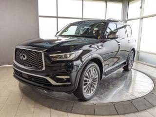 Used 2018 Infiniti QX80 Accident Free - One Owner! for sale in Edmonton, AB