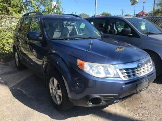 Used 2011 Subaru Forester CERTIFIED- NO ACCIDENT HEATED SEATS X Convenience for sale in Toronto, ON