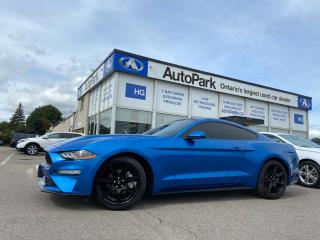 Used 2019 Ford Mustang EcoBoost Premium MANUAL  TRANS | NAV | REAR CAMERA | for sale in Brampton, ON