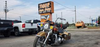 Used 1990 Harley-Davidson FLHRC Road King Classic CUSTOM*PAINT*SPEAKERS*ENGINE*6 SPD*BIG WHEELS for sale in London, ON