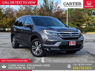 Used 2017 Honda Pilot EX-L Navi NAVIGATION + LEATHER + HEATED STEERING WHEEL + POWER LIFTGATE! for sale in Vancouver, BC