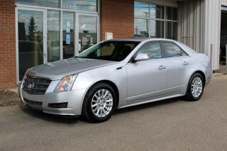 Used 2011 Cadillac CTS 3.0L LOW KM - HEATED SEATS for sale in Saskatoon, SK