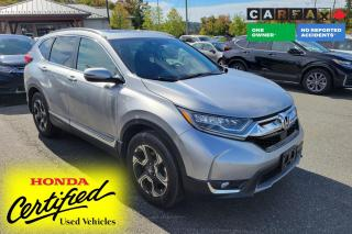 Used 2018 Honda CR-V Touring 1 OWNER - NO ACCIDENTS | AWD | SUNROOF | LEATHER | NAVIGATION | REMOTE START for sale in Huntsville, ON