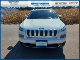 Used 2015 Jeep Cherokee Limited LIMITED 4WD | LEATHER | NEW BRAKES | NAVIGATION for sale in Wallaceburg, ON