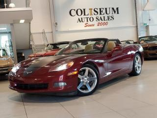 Used 2006 Chevrolet Corvette CONVERTIBLE-AUTOMATIC-NAVIGATION-HEAD UP DISPLAY for sale in Toronto, ON