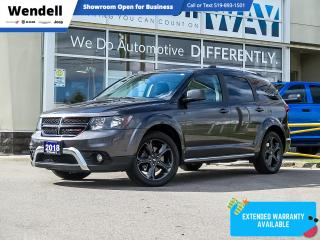Used 2018 Dodge Journey Crossroad AWD 7 Pass/Nav/DVD for sale in Kitchener, ON