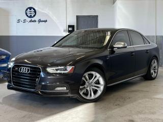 Used 2013 Audi S4 PREMIUM|SPORT DIFF|NAV|BACK UP|BSM|CARBON FIBRE| for sale in Oakville, ON