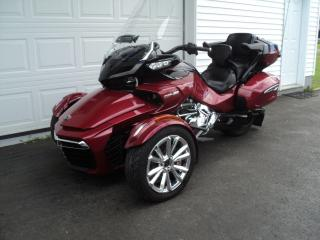 Used 2017 Can-Am Spyder F3 Limited for sale in Truro, NS