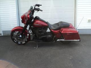 Used 2012 Harley-Davidson Street Glide Custom for sale in Truro, NS