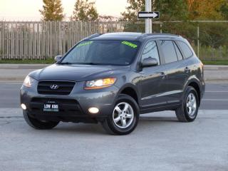 Used 2009 Hyundai Santa Fe NO-ACCIDENT,LEATHER,FULLY LOADED,CERTIFIED,LOW KMS for sale in Mississauga, ON