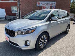 Used 2017 Kia Sedona SX+ 3.3L/7 SEATS/NO ACCIDENTS/SAFETY INCLUDED for sale in Cambridge, ON