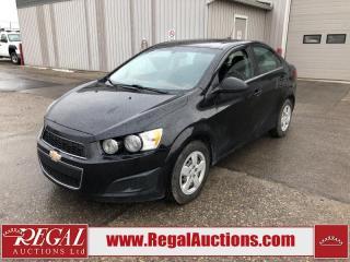 Used 2016 Chevrolet Sonic LT 4D Sedan AT 1.8L for sale in Calgary, AB