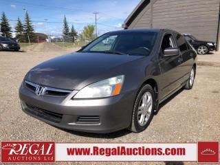 Used 2007 Honda Accord EX 4D Sedan FWD for sale in Calgary, AB