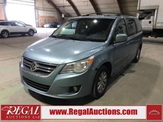 Used 2009 Volkswagen ROUTAN HIGHLINE 4D WAGON for sale in Calgary, AB