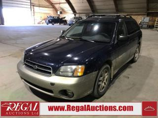 Used 2002 Subaru Outback 4D  WAGON AWD for sale in Calgary, AB