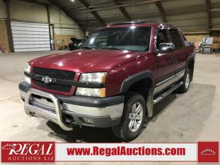 Used 2004 Chevrolet Avalanche 1500 4D PICKUP 4WD for sale in Calgary, AB