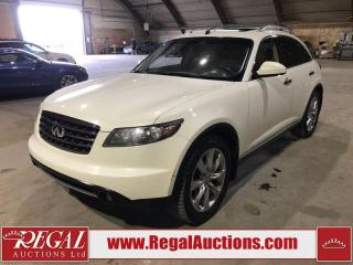 Used 2008 Infiniti FX45 4D Utility AWD for sale in Calgary, AB