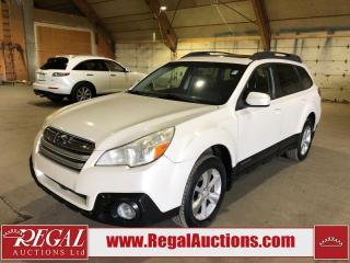 Used 2013 Subaru Outback 3.6R Limited 4D WAGON AT AWD for sale in Calgary, AB