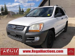 Used 2008 Kia Sportage LX 4D Utility for sale in Calgary, AB