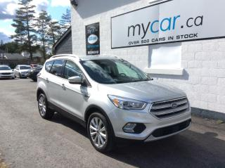 Used 2018 Ford Escape Titanium NAV, LEATHER, HEATED PWR SEATS, WOW!! for sale in Richmond, ON