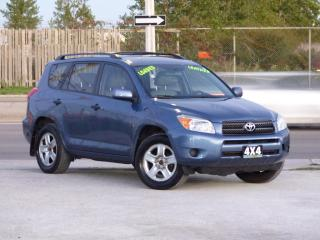 Used 2007 Toyota RAV4 4WD,LEATHER,HEATED SEATS,NO-ACCIDENT,CERTIFIED for sale in Mississauga, ON