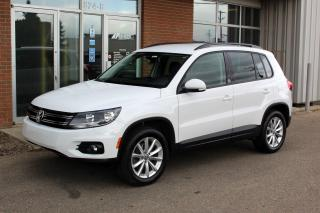Used 2017 Volkswagen Tiguan Wolfsburg Edition 4MOTION - LOCAL VEHICLE for sale in Saskatoon, SK