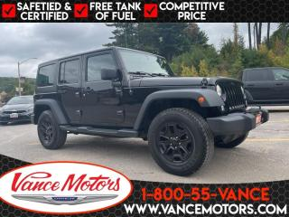 Used 2015 Jeep Wrangler Unlimited Willys 4x4...TOW*BLUETOOTH*HARD TOP! for sale in Bancroft, ON