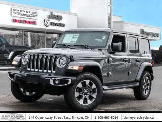 New 2021 Jeep Wrangler UNLIMITED SAHARA | LEATHER | NAV | DUAL TOP for sale in Simcoe, ON