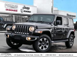 New 2021 Jeep Wrangler UNLIMITED SAHARA | NAVIGATION | DUAL TOP for sale in Simcoe, ON