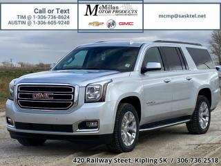 Used 2018 GMC Yukon XL SLT  4X4,HEATED LEATHER SEATS,NAV,REAR VIEW CAM,SU for sale in Kipling, SK