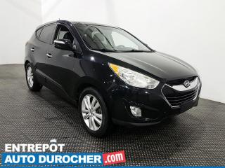Used 2012 Hyundai Tucson Limited AWD Cuir - Toit panoramique - Climatiseur for sale in Laval, QC