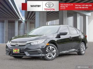 Used 2017 Honda Civic SEDAN LX for sale in Whitby, ON